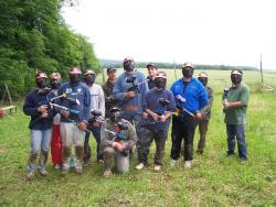 Le paintball avec l'association PaintBall Comtois