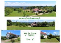 Location Gîte à 70220 Fougerolles, maison indépendante 4*