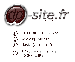 dp-site conception de site internet lure, haute-saone