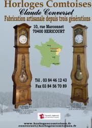 Horloges Comtoises Converset C - Haute-Saone