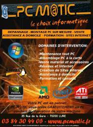 PC M@TIC - le choix informatiq - Haute-Saone