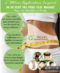 Wrap Minceur Applicateur corpo - Haute-Saone