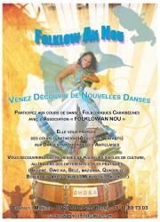 Cours de danses folkloriques de la Caraïbe