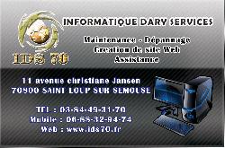 IDS70 - Informatique dary serv - Haute-Saone