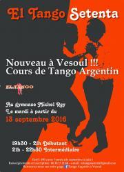 Apprendre à danser le tango ar - Haute-Saone