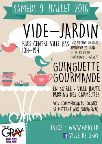 Evenement et manifestation agenda de la haute sa ne for Vide jardin 2016 la garnache