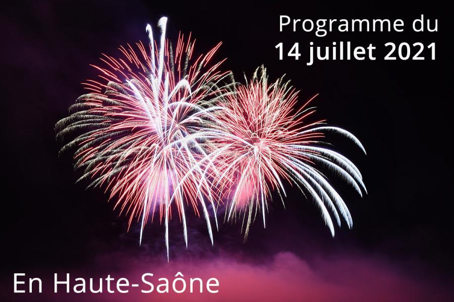 14 juillet 2021 en Haute-Saône