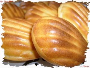 Madeleines salées aux pommes de terre