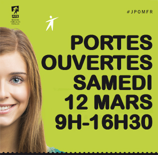 Portes ouvertes samedi 12 mars