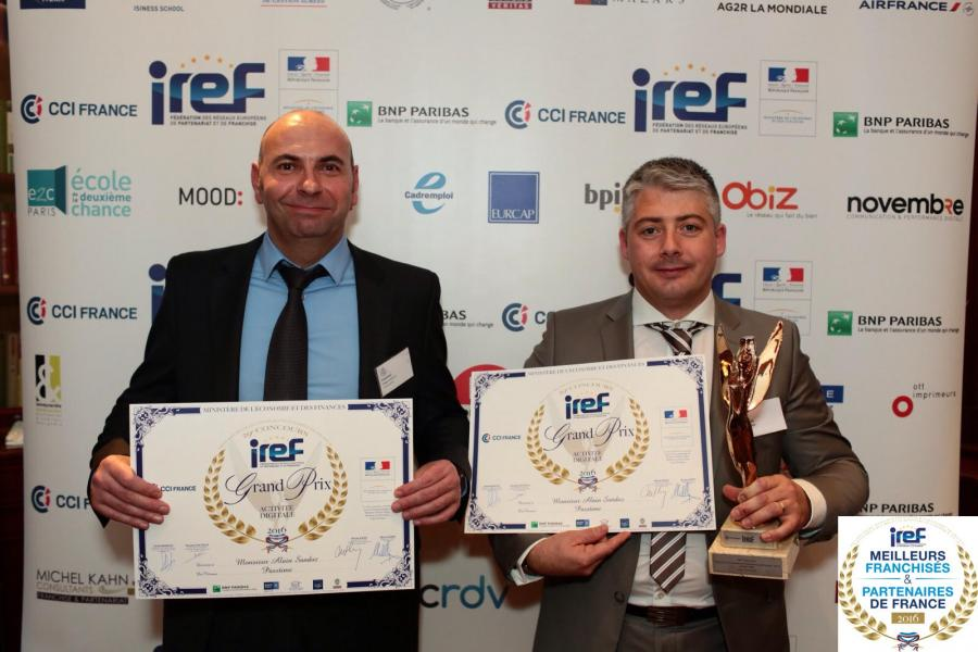 Philippe Courtial et Alain Sandoz