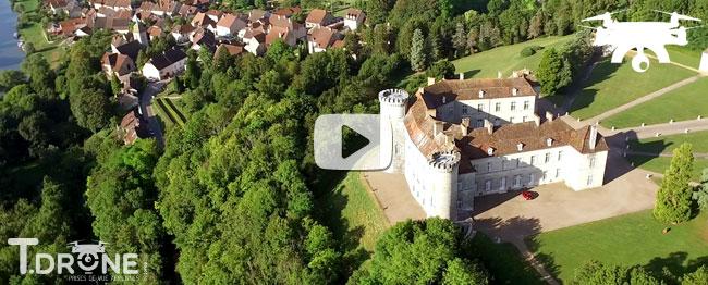 Les châteaux de Haute-Saône vus du ciel