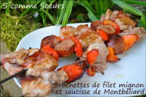Brochettes de filet mignon
