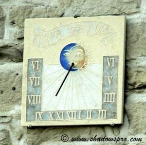 Cadran solaire de Saint-Sauveur