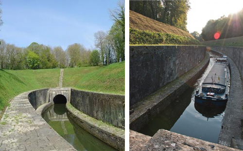 Canal tunnel de Saint-Albin