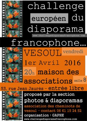 Challenge Européen du Diaporama Francophone
