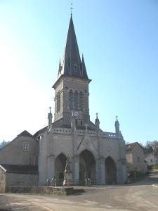 L'église des Saints-Jumeaux à Colombier