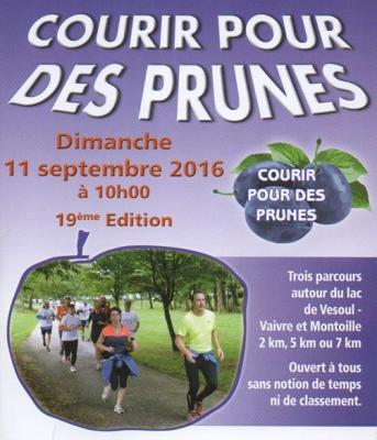 Courir pour des prunes