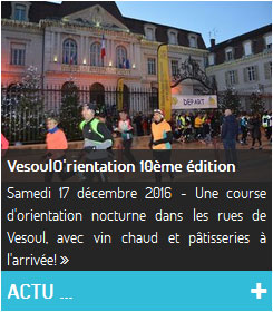Course VesoulO'rientation