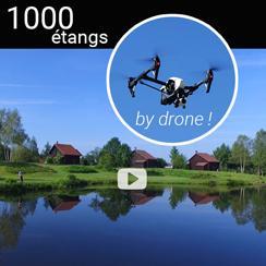 Visite aérienne des 1000 étangs