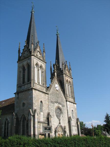Eglise de Bonnevent Velloreille
