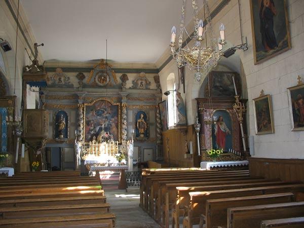 eglise pontcey autel