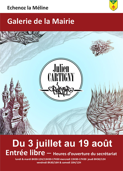 Exposition Julien Cartigny
