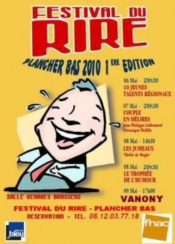 Festival du Rire à Plancher-Bas