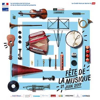 Programme de la Fête de la Musique 2017