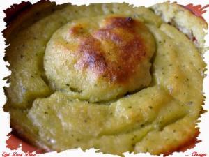 Flan de courgettes et patates douces