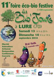 Foire Bio'Jours 2014