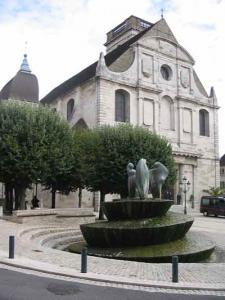 L'église Saint-Georges, au coeur du Vieux Vesoul