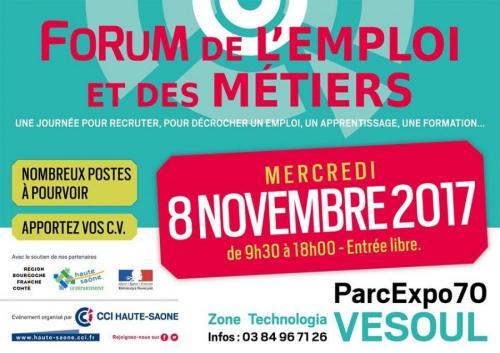 Forum de l'emploi et des métiers