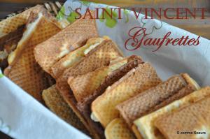 Gaufrettes de la Saint-Vincent