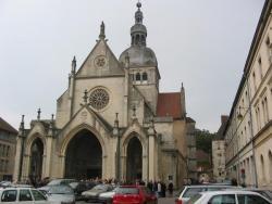 La basilique de Gray, en Haute-Saône