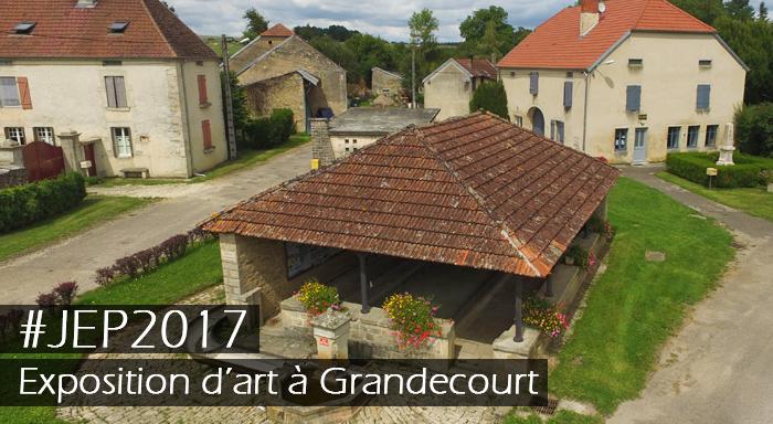 Exposition d'art à Grandecourt