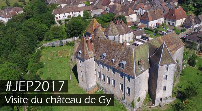 Visite du château de Gy