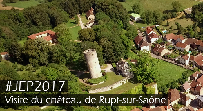Visite du château de Rupt sur Saône