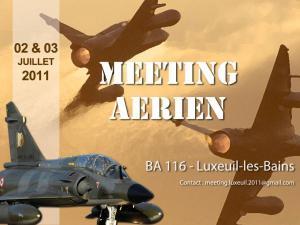 Meeting aérien à Luxeuil les Bains