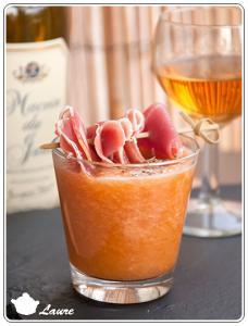Gaspacho de melon au macvin