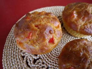 Muffins thon et poivron