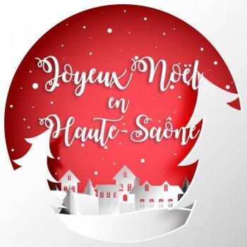 Joyeux Noël en Haute-Saône