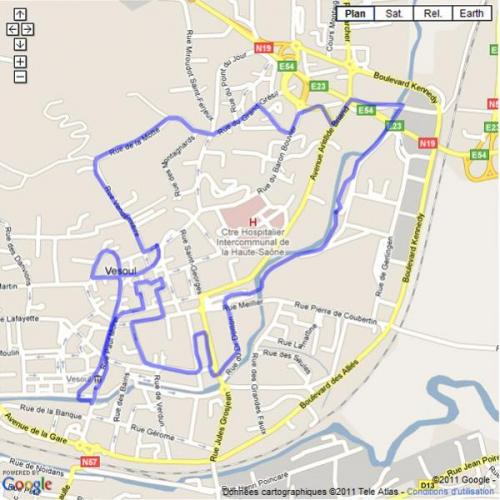 Parcours The Jungle Run
