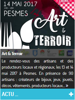 Art et Terroir à Pesmes