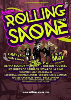 Festival rolling sa ne 2014 for 71 haute saone