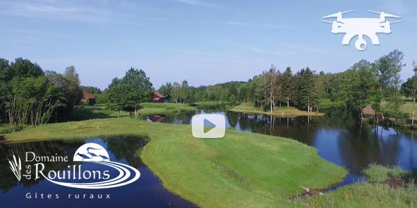 Film par drone ''Les Rouillons aux 1000 étangs''