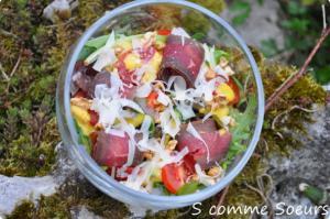 Salade bresi et comté