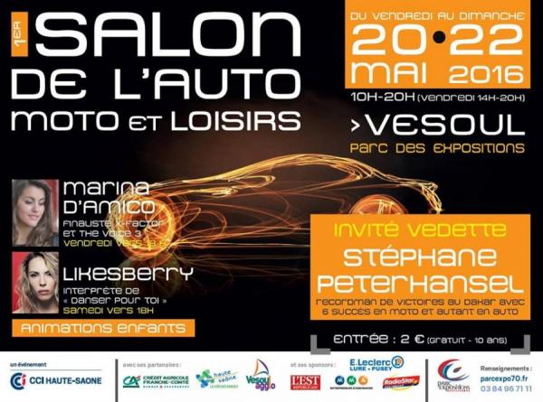 Salon de l'auto, moto, loisirs de Vesoul