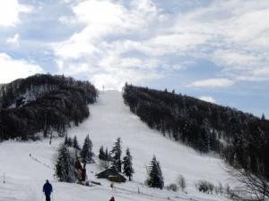 Piste de ski de la Planche des Belles Filles