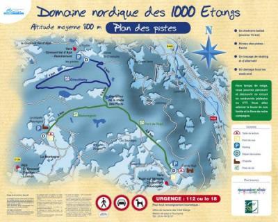 Ski aux 1000 étangs