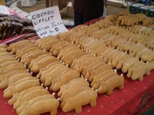 Petits cochons de pain d'épice